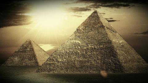 Pyramids 04 Stock Video Footage