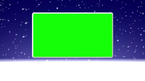 Snow Loop GS 16 Stock Video Footage