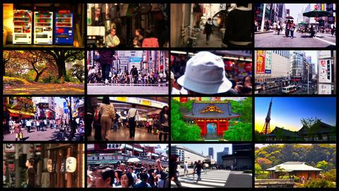 Tokyo Street Spliscreen 03 Footage