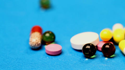 medicines and tablets Footage