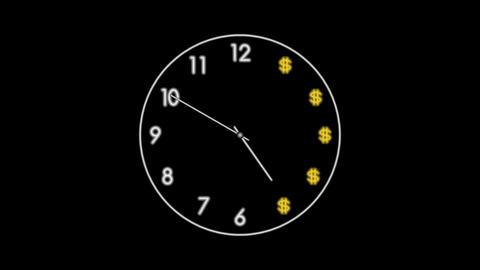 Clock-21C Stock Video Footage