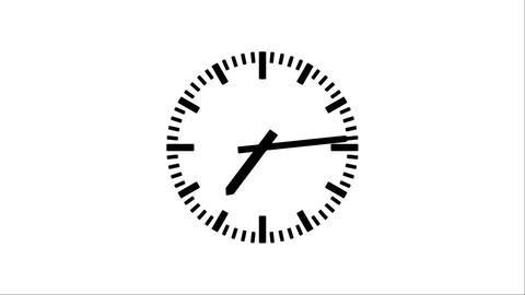 Clock-23CX Stock Video Footage