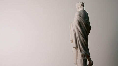 Animated Sculptures For The Background stock footage