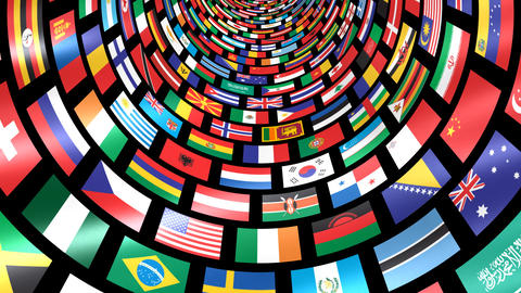 World Flags T Mfbm CG動画