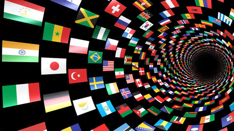 World Flags T Yrbm CG動画