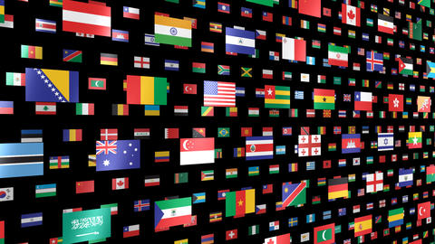 World Flags W Nbm CG動画