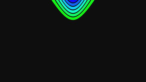 Vertical rainbow strips running Stock Video Footage