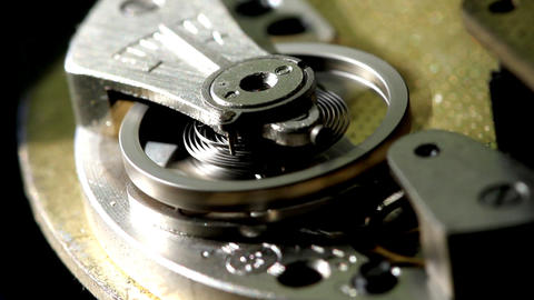 clock macro Stock Video Footage
