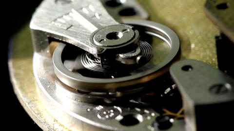 clock macro Stock Video Footage