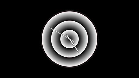 Clock-26C Stock Video Footage