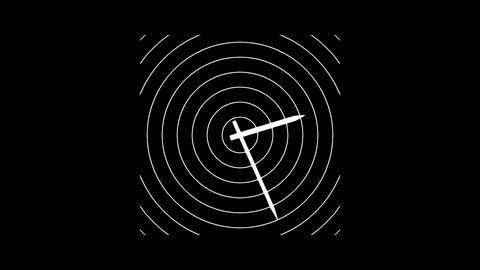 Clock-30C Stock Video Footage