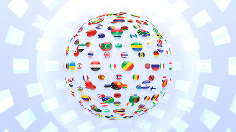 World Flags B Fcw Animation