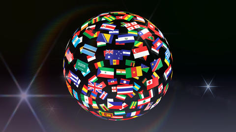 World Flags B Tbb Animation