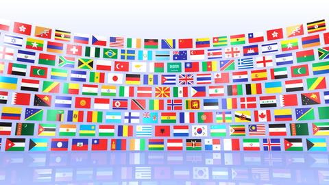 World Flags R Mbw CG動画