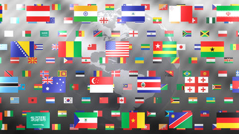 World Flags W Fbe Animation