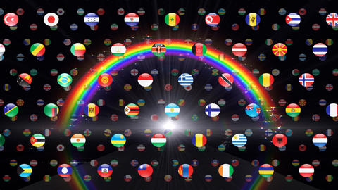 World Flags W Fcb Animation