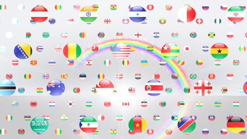 World Flags W Fcw Animation