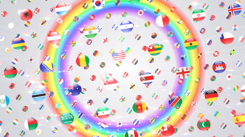 World Flags W Rcw CG動画