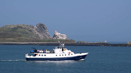 Dublin Bay Boat Ferry Howth Co. Dublin ビデオ
