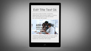 EBook - AE Version 4 After Effects Template