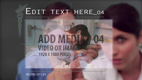 Medical media slide show AE Version 5 After Effects Template