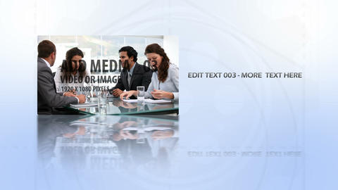 Diagram Media Sequence AE Version 5 After Effects Template
