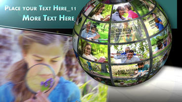 Media Globe AE Version 5 After Effects Template