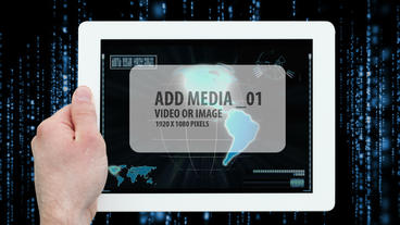 Digital Tablet AE Version 5 Template After Effect