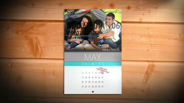 Lifestyle Events Calendar AE Version 5 After Effects Template