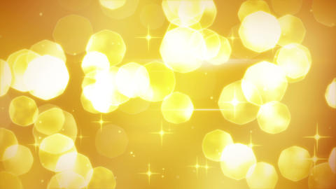 golden glitters festive loopable background Animation