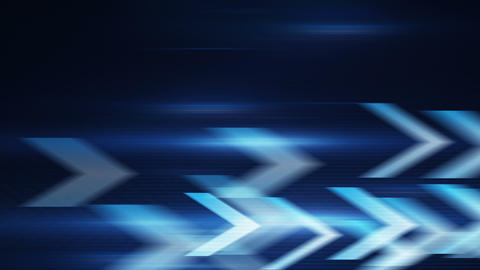 blue arrows fast motion loopable background Animation