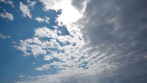 Spectacular sky clouds beautiful timelapse 4K UHD Footage