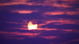 Sunrise Timelapse Stock Video Footage