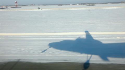 Shadow plane Stock Video Footage