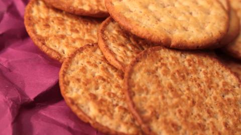 Cookies stock footage