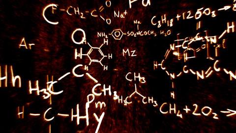 3D Chemistry v01 01 Stock Video Footage