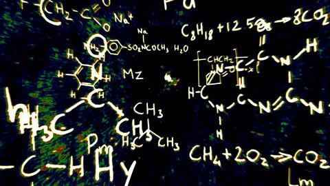 3D Chemistry v01 05 Stock Video Footage