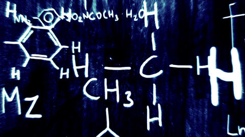3D Chemistry v02 03 Stock Video Footage
