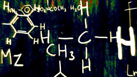 3D Chemistry v02 05 Stock Video Footage