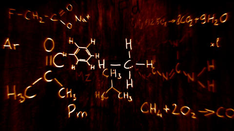 3D Chemistry v03 01 Stock Video Footage