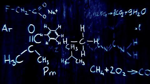 3D Chemistry v03 03 Stock Video Footage