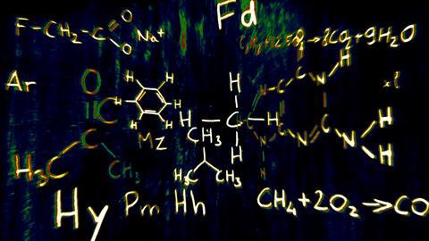 3D Chemistry v03 05 Stock Video Footage