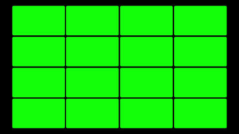 Green Screen Box 01 Stock Video Footage
