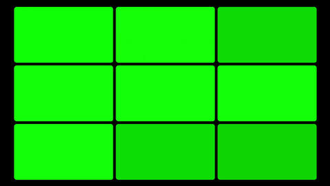 Green Screen Box 03 Stock Video Footage