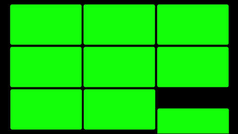 Green Screen Box 05 Stock Video Footage