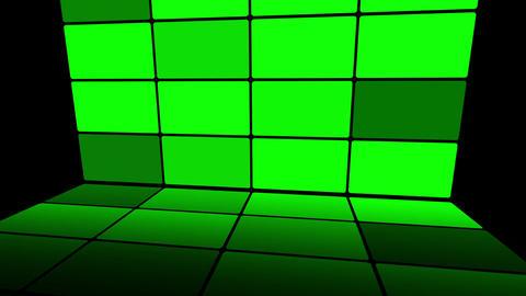 Green Screen Box 07 Stock Video Footage
