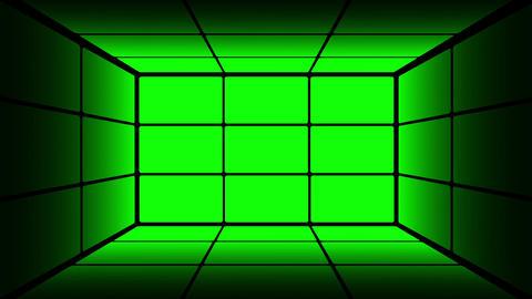 Green Screen Box 13 Stock Video Footage