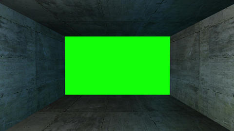 Green Screen Box 15 Stock Video Footage