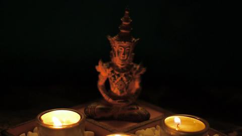 Meditation 05 Stock Video Footage