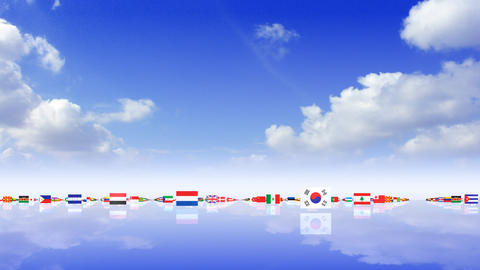 World Flags 3MFss CG動画
